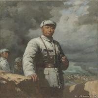 张祖英油画人物图片作品