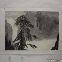 陈小弟昆仑子国画抽象水墨图片(3)