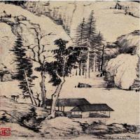 清代画家弘仁绘画作品集(2)