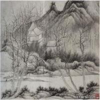 清代画家龚贤绘画作品集(2)
