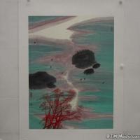 陈小弟昆仑子国画抽象水墨图片(2)