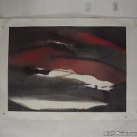 陈小弟昆仑子国画抽象水墨图片(4)