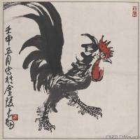 陈大羽国画作品