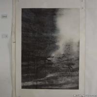 陈小弟昆仑子国画抽象水墨图片