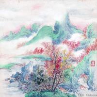 刘知白国画水墨高清图片(2)