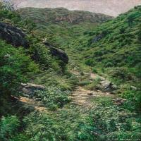 何树海抽象国画作品图片