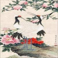 李晓明国画工笔画小花鸟植物图片(4)