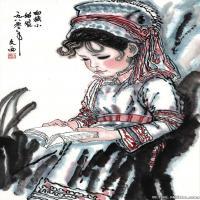 刘文西高清国画水墨图片
