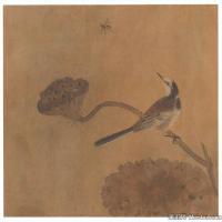 李晓明国画工笔画小花鸟植物图片
