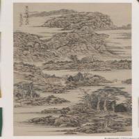 傅廷煦高清国画作品图片