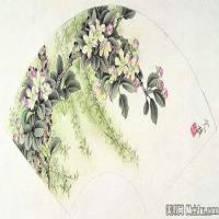 龚文祯国画画鸟植物高清图片