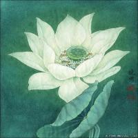 李晓明国画工笔画小花鸟植物图片(5)