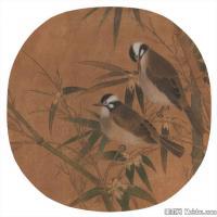 李晓明国画工笔画小花鸟植物图片(2)