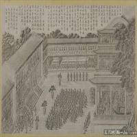 清代宫廷画家郎世宁绘画作品集(8)