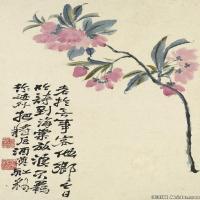 清代画家石涛花卉册页图片