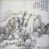 清代著名画家王翚仿古山水图册