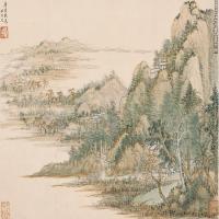 清代著名画家王翚绘画作品