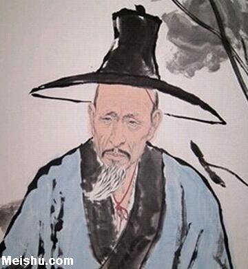 清初四大画僧八大山人朱耷作品赏析