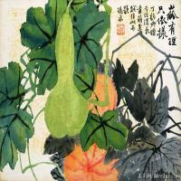 清代著名书画家赵之谦花卉图册十开纸本