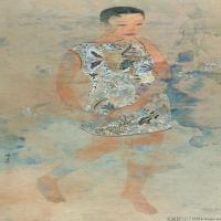陈子高清国画人物图片(2)