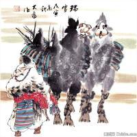 劉大為高清國畫作品圖片