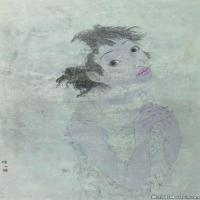 陈子高清国画人物图片