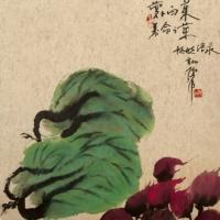 倪萍高清国画图片