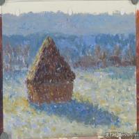 (1)水粉风景央美状元考生优秀试卷高清图片