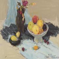 (10)水粉静物美院优秀试卷优秀考生绘画作品