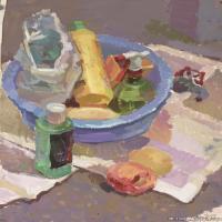 (9)水粉静物美院优秀试卷优秀考生绘画作品