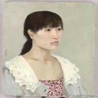 (2)水粉人物美院艺考人物半身像头像高清高清图片