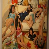 刘晓东油画作品高清图片