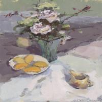 (6)水粉静物美院优秀试卷优秀考生绘画作品