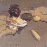(5)水粉静物美院优秀试卷优秀考生绘画作品
