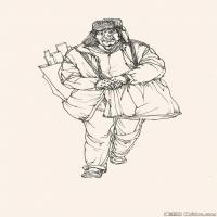 (11)人物速写高考人物速写品美术高考模拟题