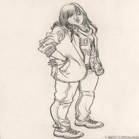 (8)人物速写高考人物速写品美术高考模拟题