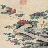 清朝慈禧皇太后绘画作品