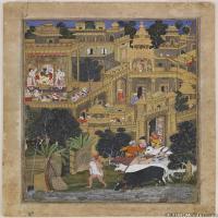 (7)印度美术印度画异域文化高清晰图片