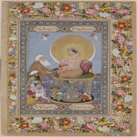 (10)印度美术印度画异域文化高清晰图片