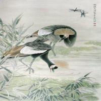 张德泉高清国画工笔作品图片