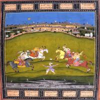(3)印度美术印度画异域文化高清晰图片