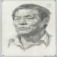 (3)素描头像美术高考素描男性优秀高清图