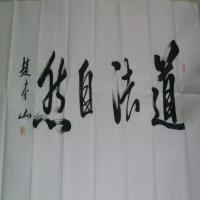 赵本山高清书法作品图片