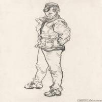 (7)人物速写高考人物速写品美术高考模拟题