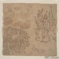 (14)印度美术印度画异域文化高清晰图片
