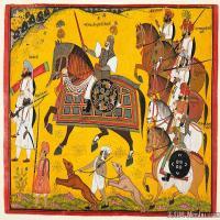 (6)印度美术印度画异域文化高清晰图片