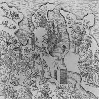(25)地图装饰画图片