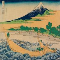 浮世绘(18)日本风景山水近现代高清图片