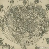 (24)地图装饰画图片