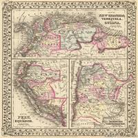 (16)世界地图高清装饰画图片